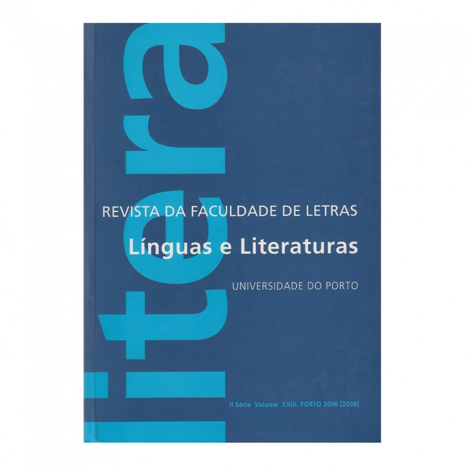 Revista da FLUP: Línguas e literaturas nº 23