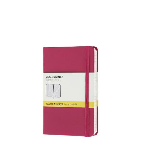 Bloco de Notas, Pocket (Quadriculado) Rosa