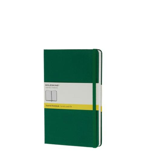 Bloco de Notas, Pocket (Quadriculado) Verde