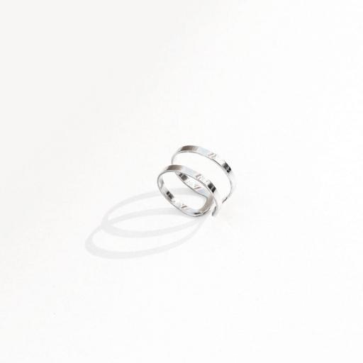 Jane silver ring II | Tam. 14/16