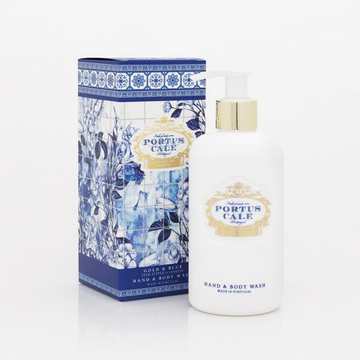 Portus Cale Gold & Blue 300ml| Hand&Body Wash