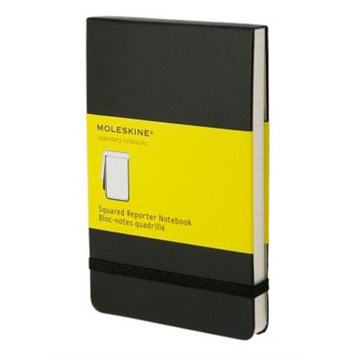 Reporter Notebook, Pocket (Quadriculado)