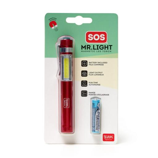 SOS! Mr. Light Magnetic Led Torch